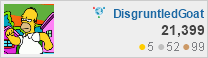 profile for DisgruntledGoat at Webmasters